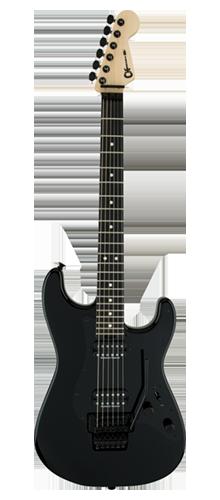 GUITARRA CHARVEL PRO-MOD SO-CAL STYLE 1 HH FLOYD ROSE 296-6801-503 GLOSS BLACK
