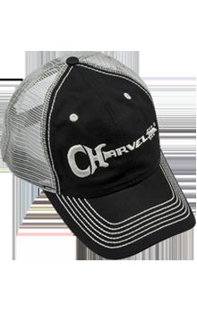 BON� CHARVEL TRUCKER HAT 099-8785-000 BLACK/WHITE