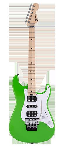GUITARRA CHARVEL PRO-MOD SO-CAL STYLE 1 HSH FLOYD ROSE MAPLE 296-6034-525 SLIME GREEN