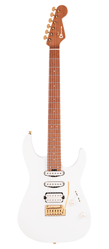 GUITARRA CHARVEL PRO-MOD DINKY DK24 HSS 2PT CM 296-9413-576 SNOW WHITE