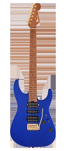 GUITARRA CHARVEL PRO-MOD DINKY DK24 HSH 2PT CM 296-9414-527 MYSTIC BLUE